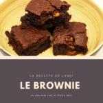 Brownie chocolat-fruits secs