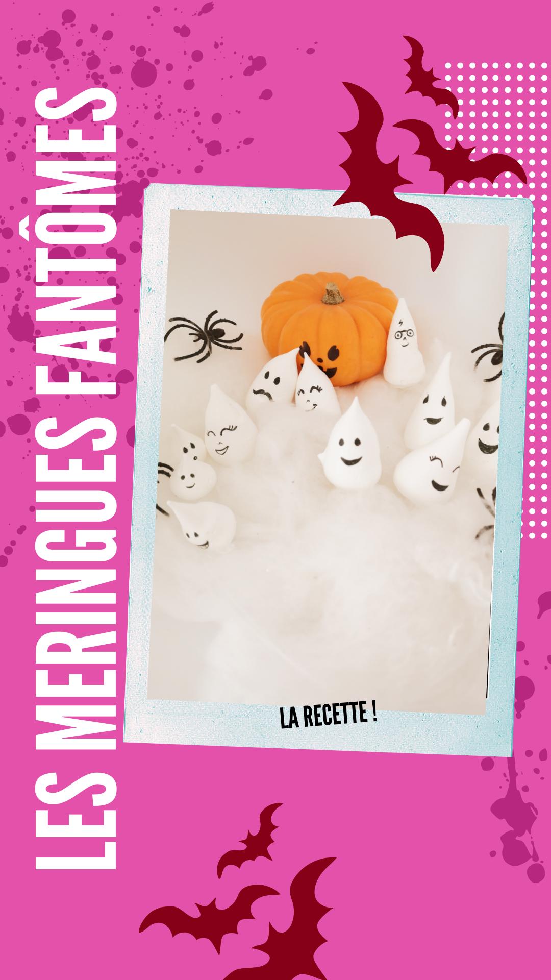 La recette du lundi – les meringues fantômes